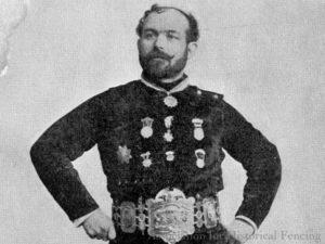 Generoso Pavese fencing master portrait